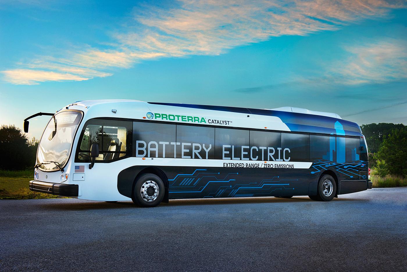 proterra, le bus électrique zéro émission