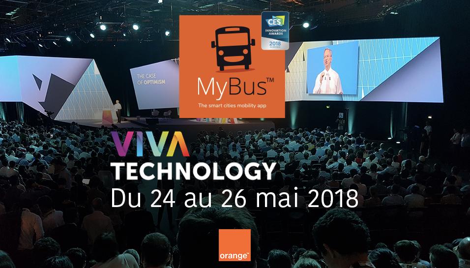 Vivatech Orange MyBus
