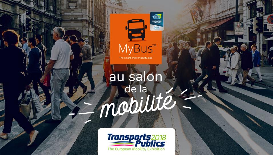 Prochain arrêt pour MyBus : le salon européen de la mobilité