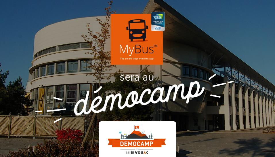 MyBus au DémoCamp du Bivouac