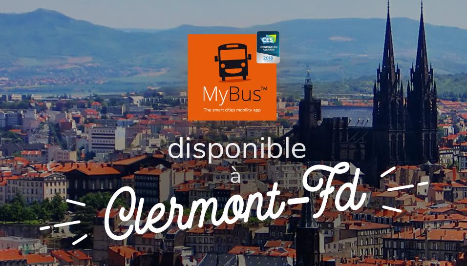 MyBus à Clermont-Ferrand