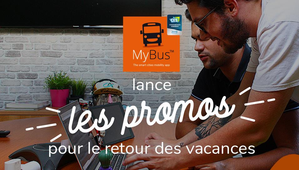 MyBus lance les promotions pour le retour des vacances