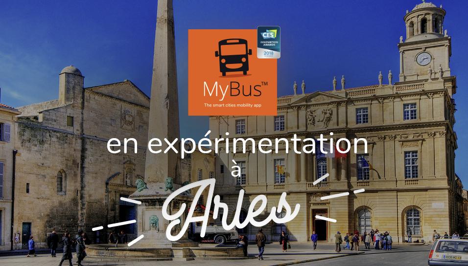 MyBus à Arles