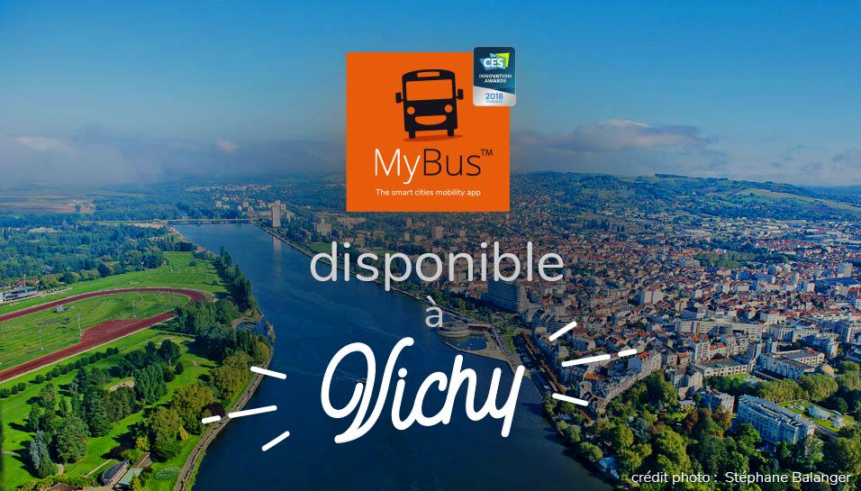 MyBus disponible à Vichy