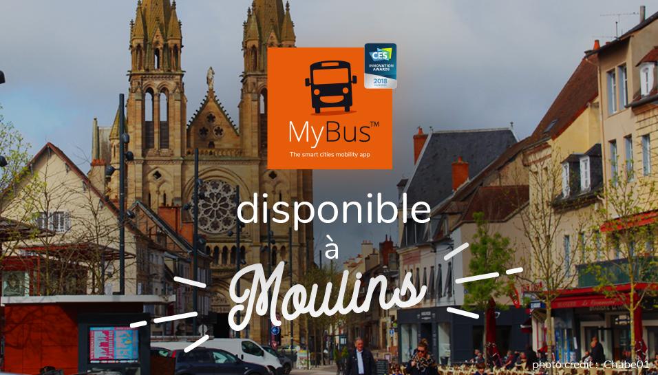 MyBus à Moulins